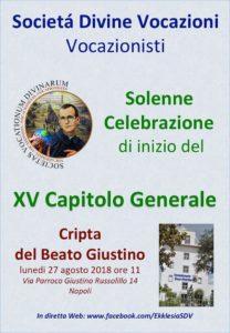 Celebrazione di apertura del XV Capitolo Generale @ Casamadre dei Vocazionisti | Napoli | Campania | Italia