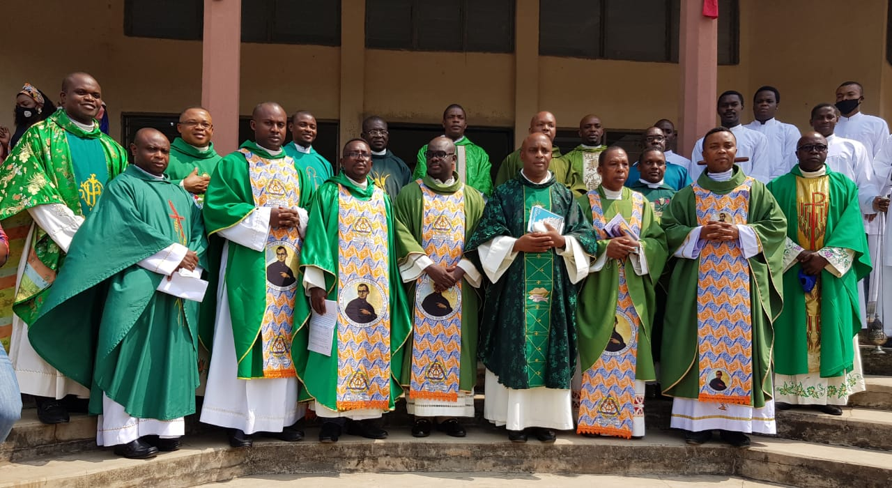 The Members of the New Delegation Council of Nigeria with other confreres